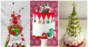 25 Super Cute Christmas Cakes