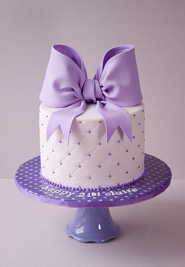Beautiful Birthday Cake With Ribbon Amazing Cake Ideas