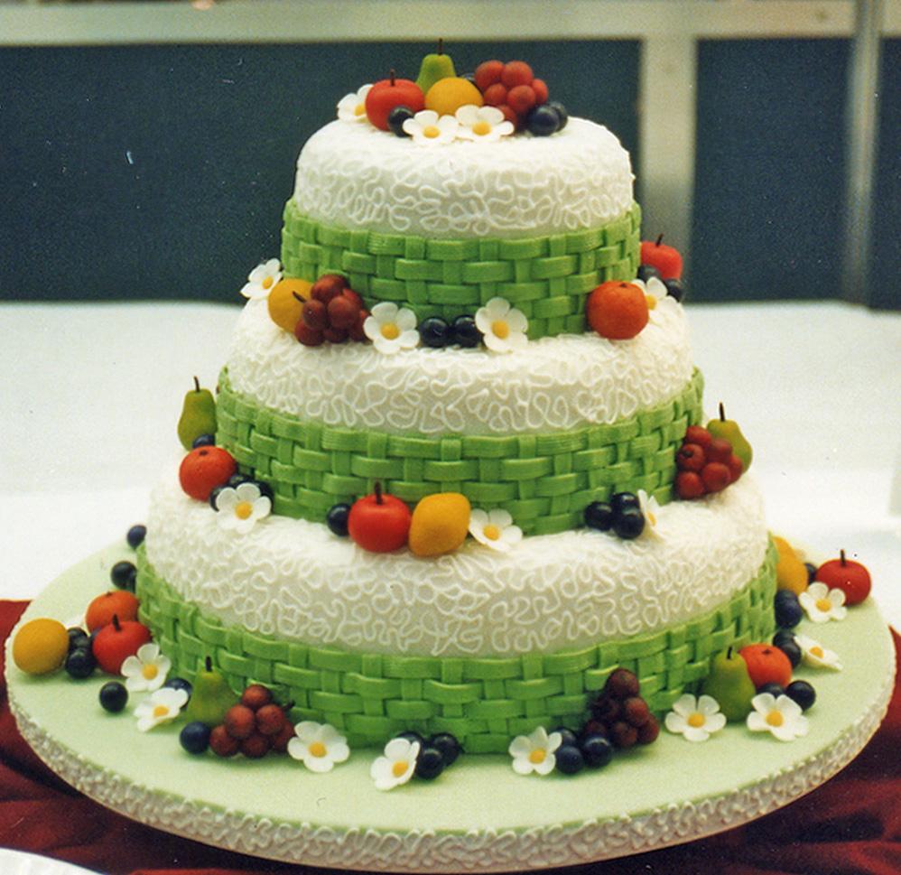Beautiful Chocolate Birthday Cake