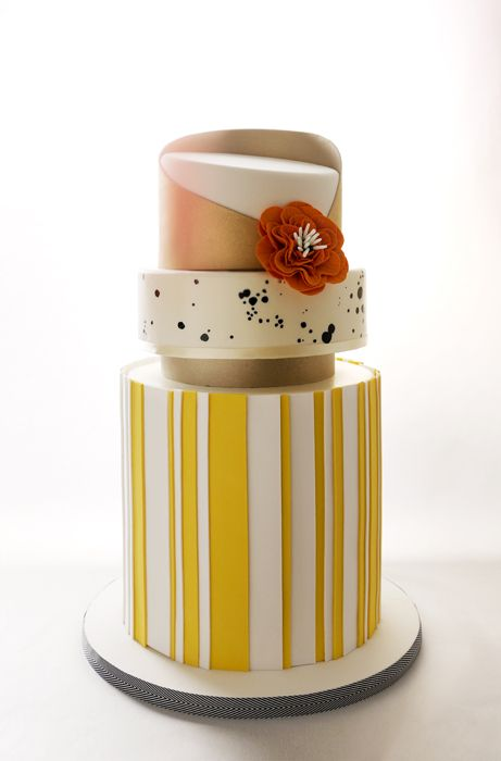 Beautiful Yellow Cake