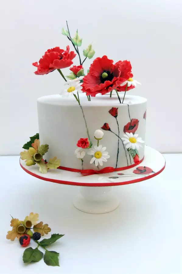 Poppy Rose Cake Design : 20+ Pretty Awesome and Wonderful Cakes - Page 3 of 32