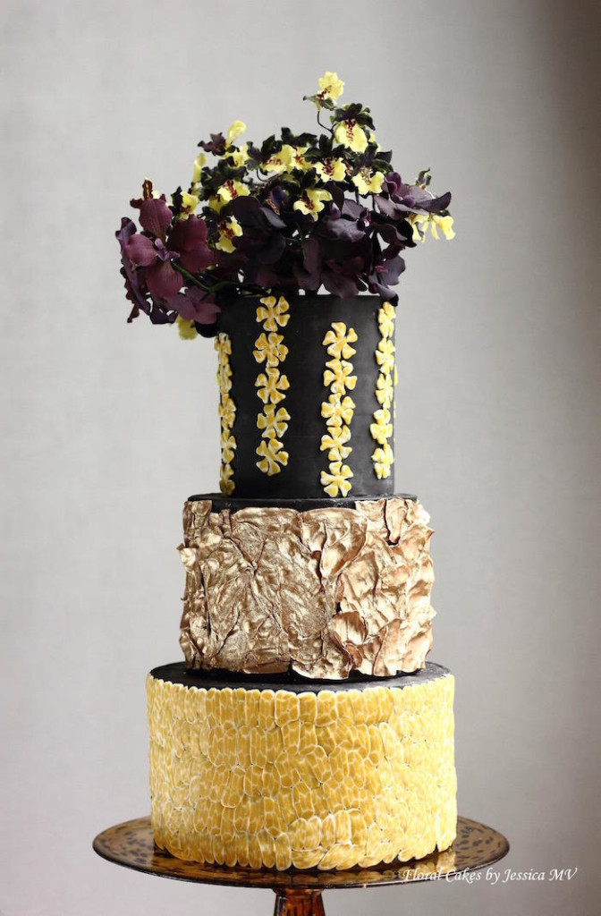 Black Dancing Lady Cake