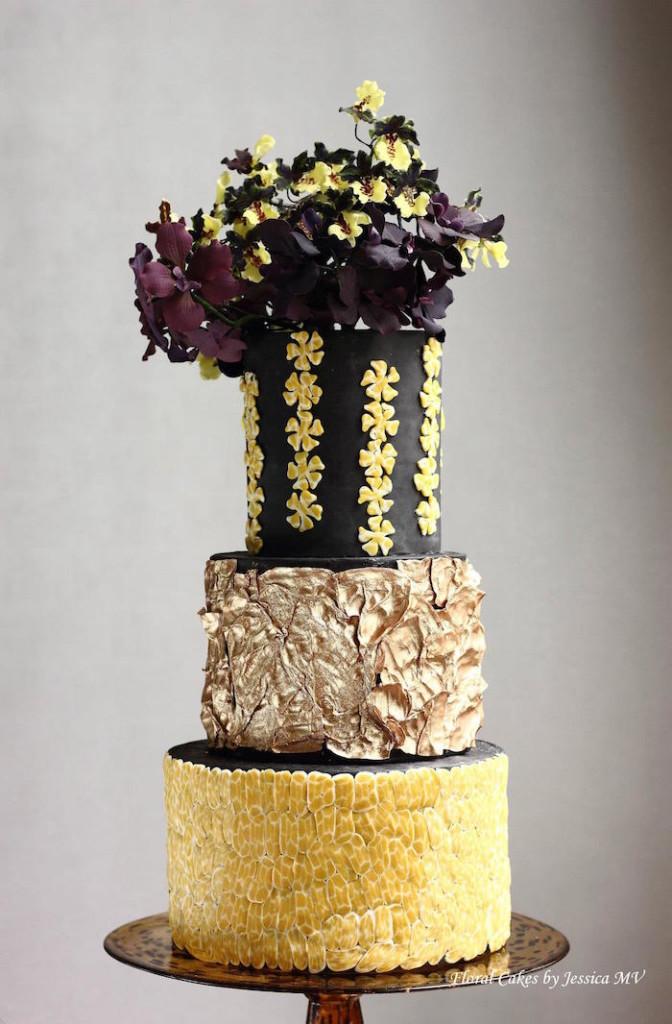 Black Dancing Lady Cake