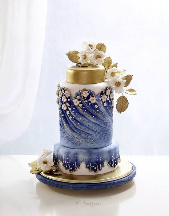 wedding cake designs royal blue and gold not your ordinary cakes 22496