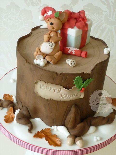 Cute Christmas Cake Amazing Cake Ideas