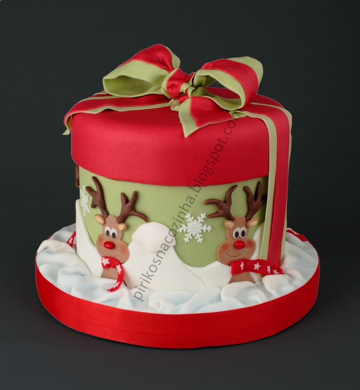 Cute Gift Christmas Cake
