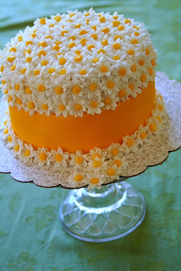 Remarkable Daisy Cake Amazing Cake Ideas Funny Birthday Cards Online Alyptdamsfinfo