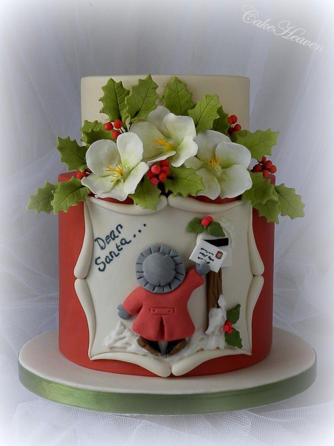 Dear Santa Cake