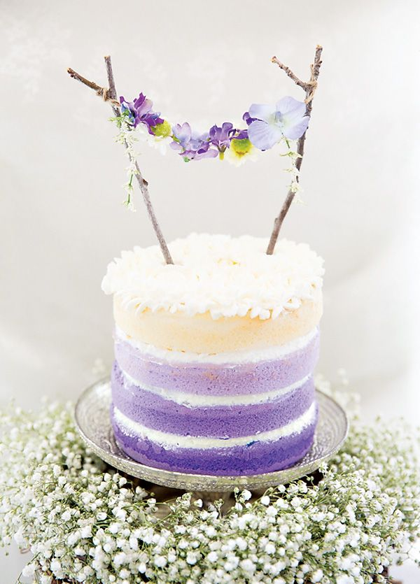 Dreamy Lavender Woodland Fairy Party Cake Amazing Cake Ideas
