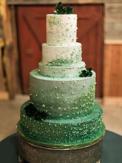 Emerald Green Cake , Amazing Cake Ideas