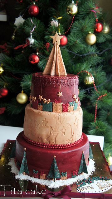 Extraordinary Christmas Cake