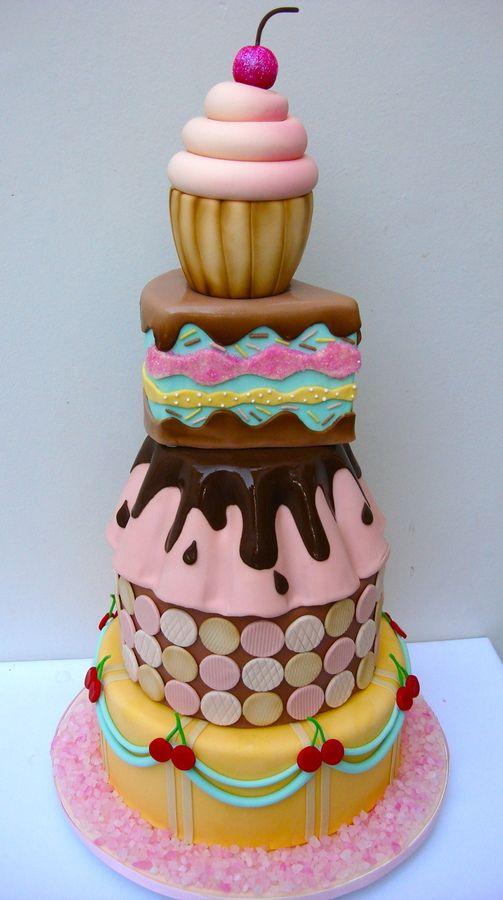 Fun Childrens Birthday Cake Amazing Design