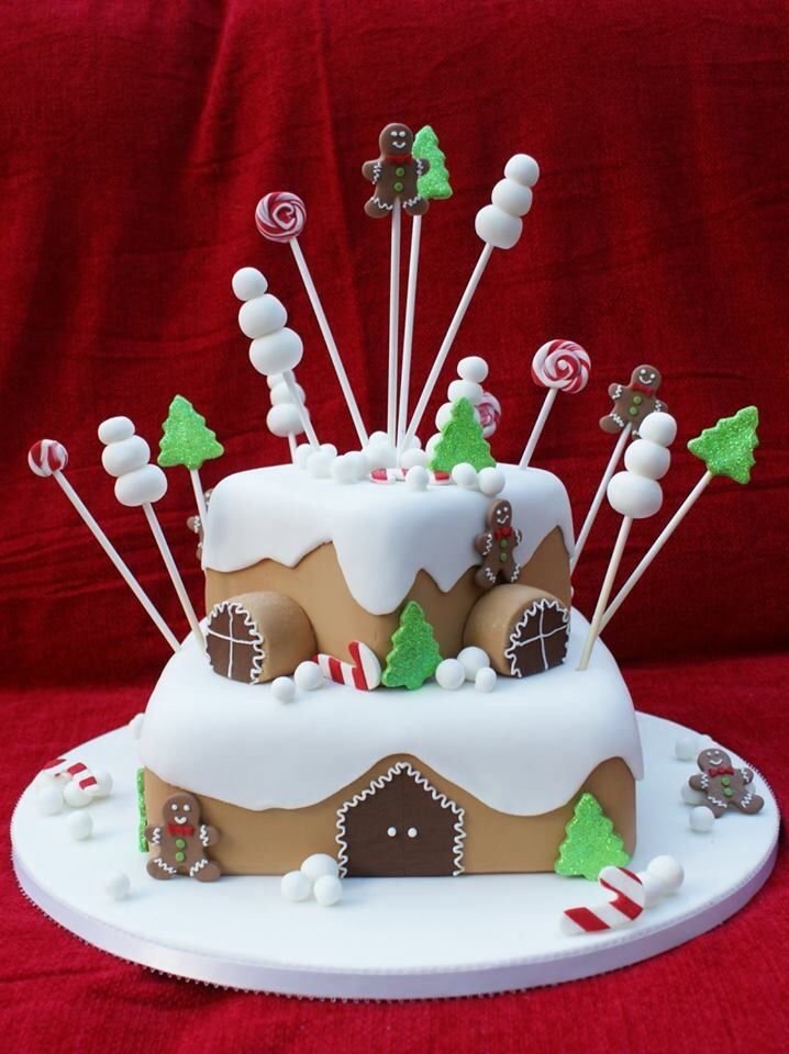 20 Most Beautiful And Wonderful Christmas Cakes Page 7