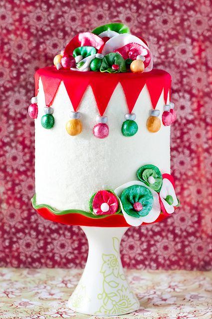 Cute Christmas Cake Images : 25 Super Cute Christmas Cakes