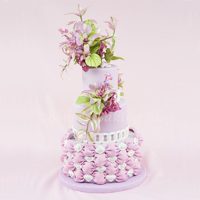 Mariposa Lilly Cake
