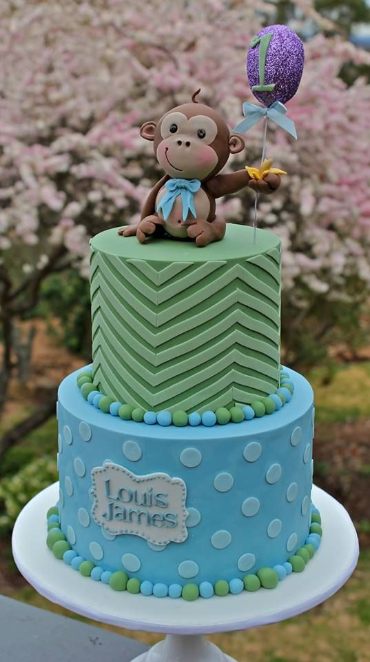 Monkey Cake By Katie Shea Design