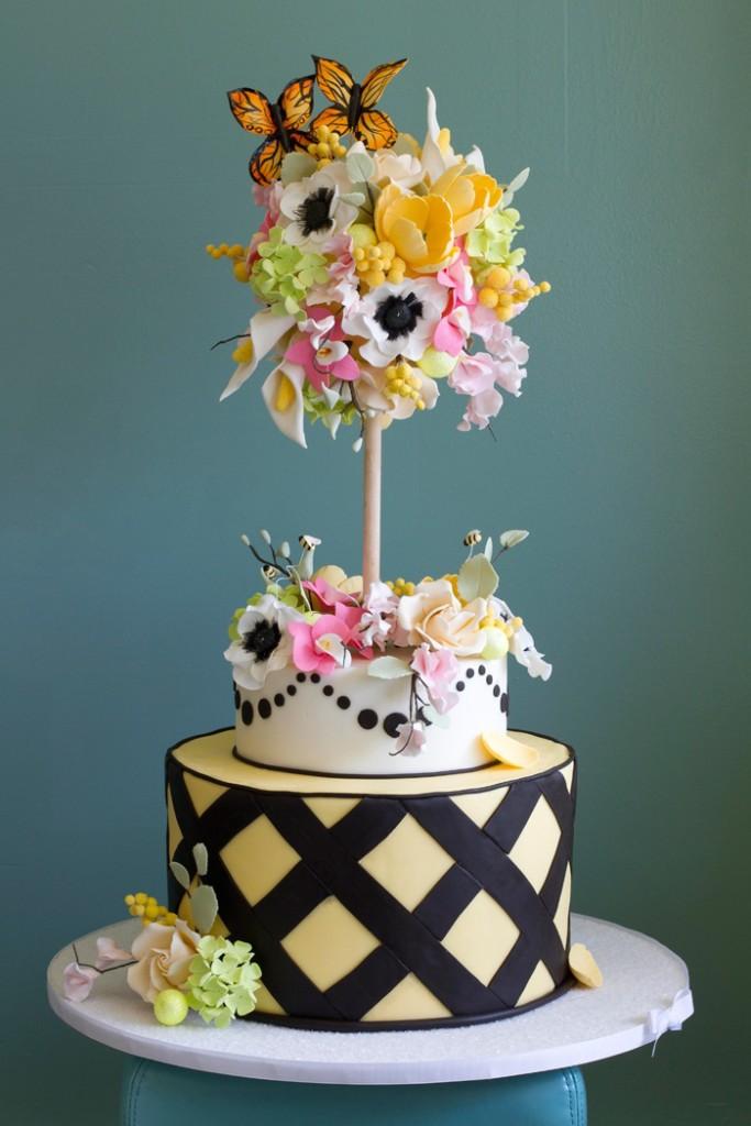 Lovely Flowers Cake