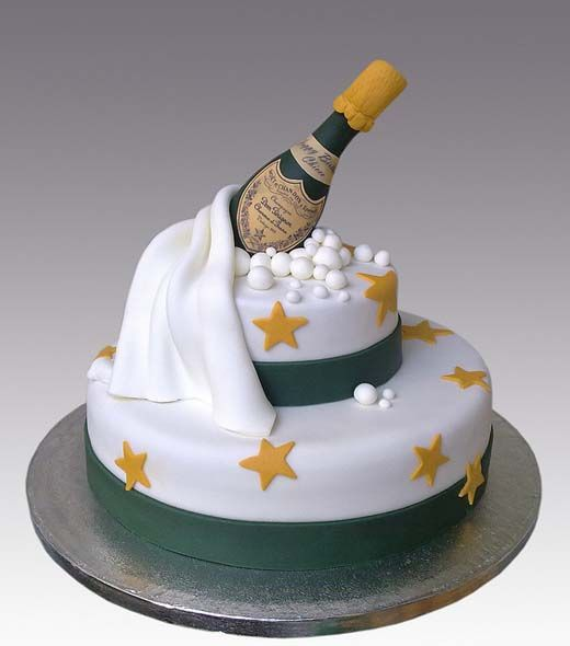 Pretty New Year S Cake Amazing Cake Ideas