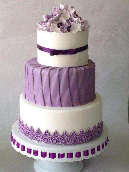 Purple Wedding Cake Amazing Cake Ideas