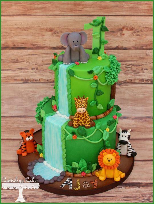 Safari Cake Amazing Cake Ideas