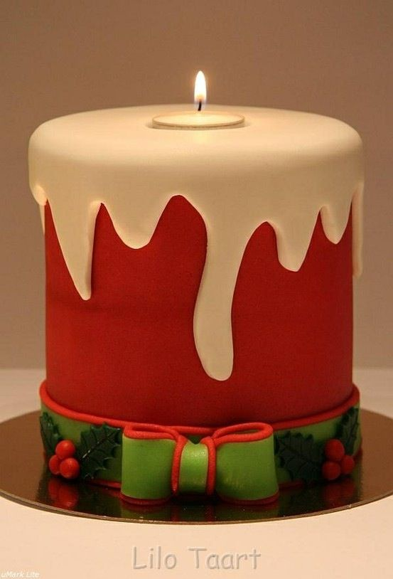So Cute Christmas Cake