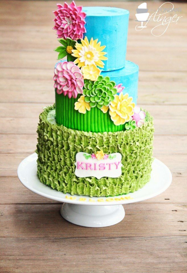 Spring Flowers Cake Amazing Cake Ideas