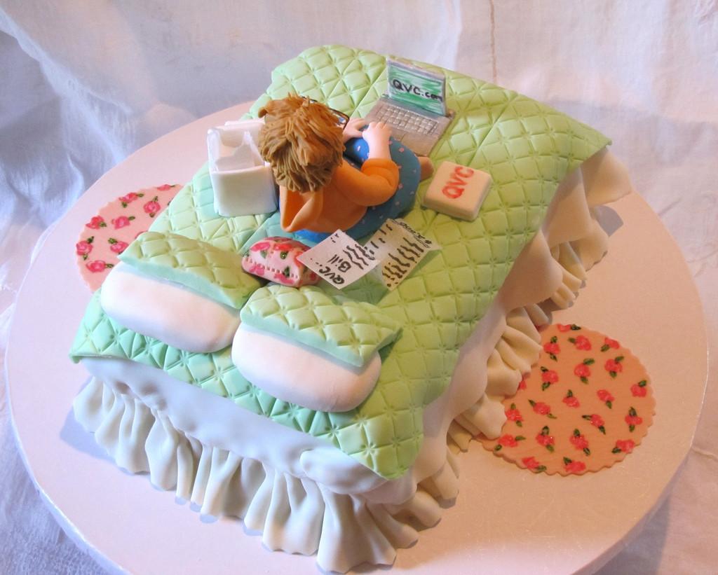 Sugar Shopper Birthday Cake