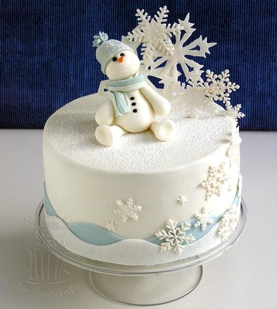 Cute Christmas Cake Images : 25 Super Cute Christmas Cakes - Page 24 of 25