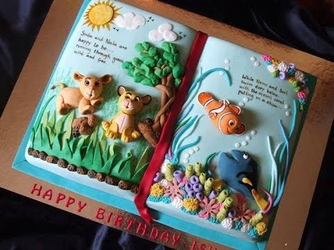 Tell a Story Cake