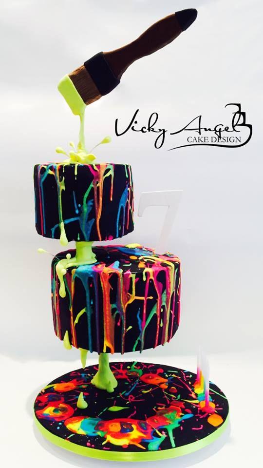 Vicky Angel Cake Design Amazing Cake Ideas