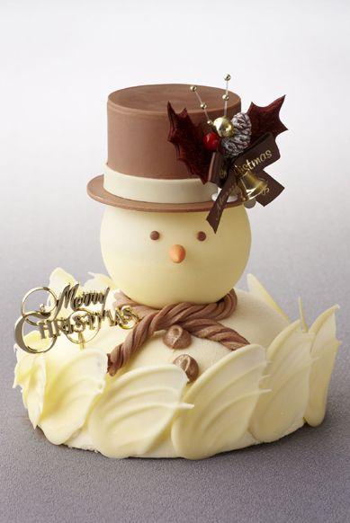 White Choco Cake