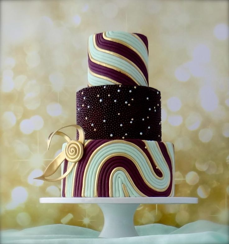 Mint Gold Cake