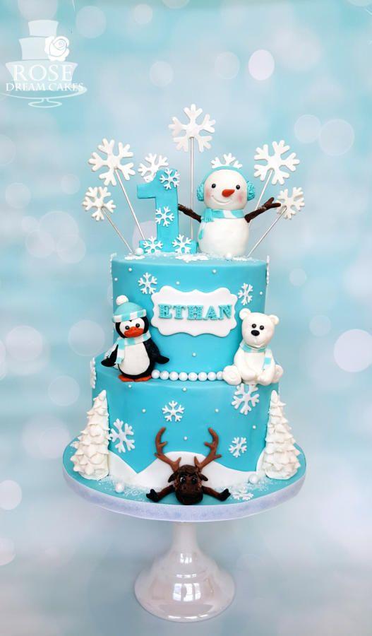 Cute Winter Cake  sc 1 st  Amazing Cake Ideas & Cute Winter Cake - Amazing Cake Ideas