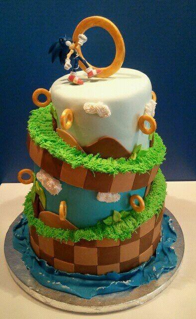 Awesome Sonic The Hedgehog Cake Amazing Cake Ideas