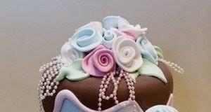 Beautiful Nigerian Wedding Cake