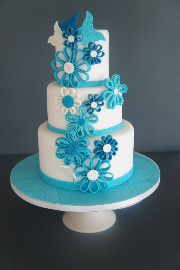 Images Of Blue Cake : 20 Pretty Stylish and Chic Cakes - Page 6 of 20