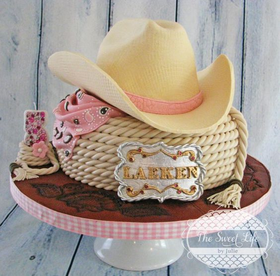 Cowgirl Hat Cake