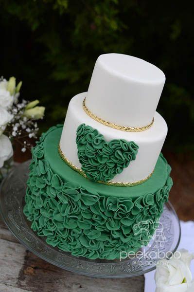 Emerald Green Wedding Cake Amazing Cake Ideas