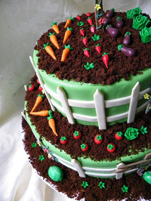 Garden Birthday Cake - Amazing Cake Ideas