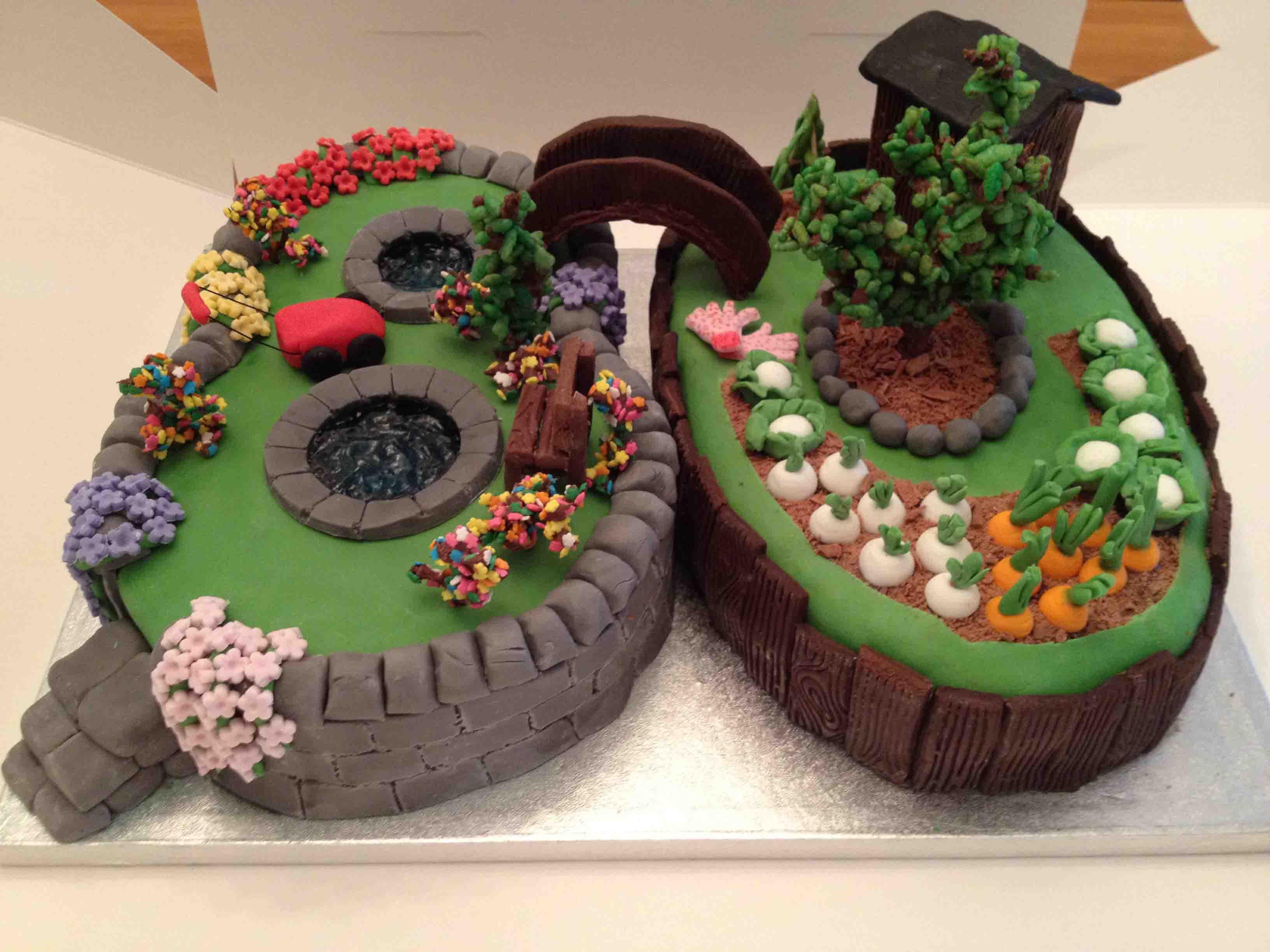 Garden Cake - Amazing Cake Ideas