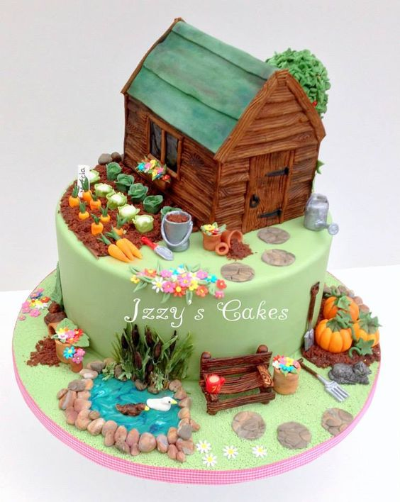 Cake Designs Garden : 20 Cakes That Are So Captivating - Page 6 of 20
