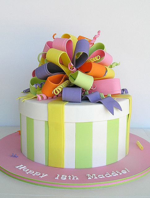 Images Of Cakes That Look Like Presents