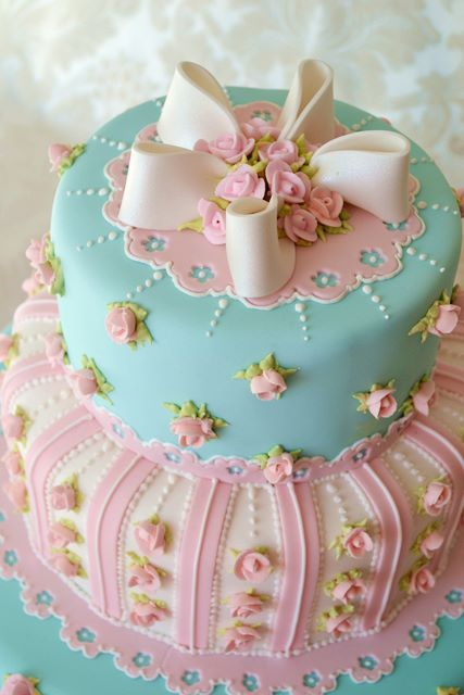 Gorgeous Cake From A Tea Party