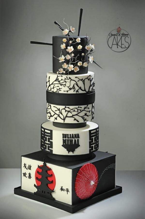 Japanese Themed Cake Amazing Cake Ideas