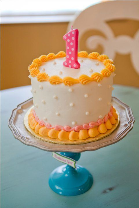 Little Peach 1st Birthday Party Cake Amazing Cake Ideas