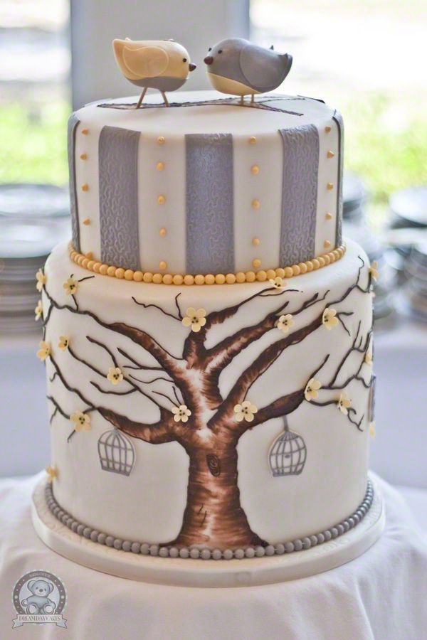 Lovers' Painted Cake