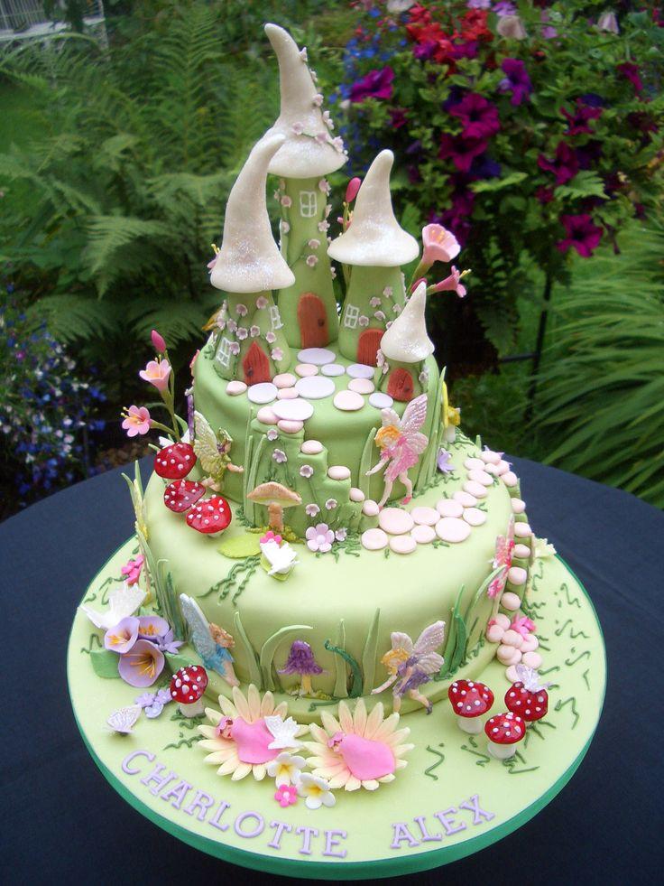 Nice Fairy House Cake Amazing Cake Ideas