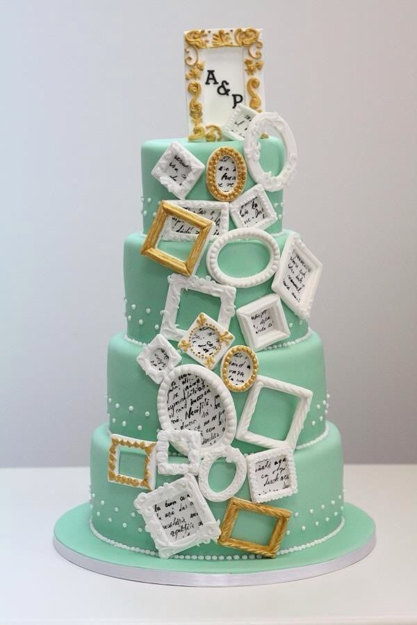 Artistic Wedding Cake Toppers