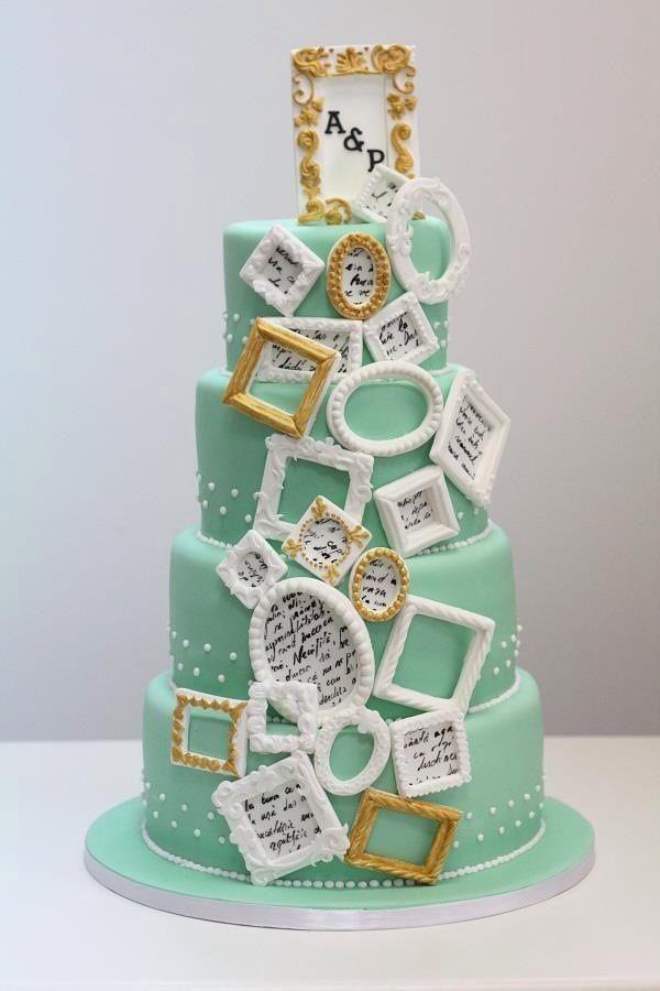 Photo Frames Cake Amazing Cake Ideas