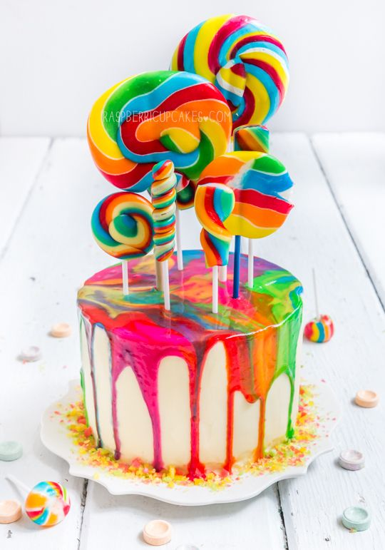 Birthday Cake Rainbow Design : Top 20 Magnificent and Delightful Cake Designs - Page 5 of 21